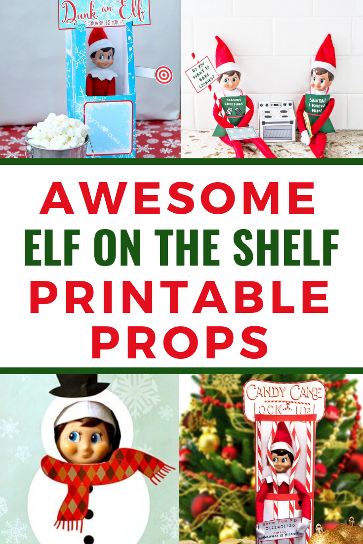 graphic regarding Elf on the Shelf Printable Props named Elf upon the Shelf Printable Props, Letters and Much more - Residing