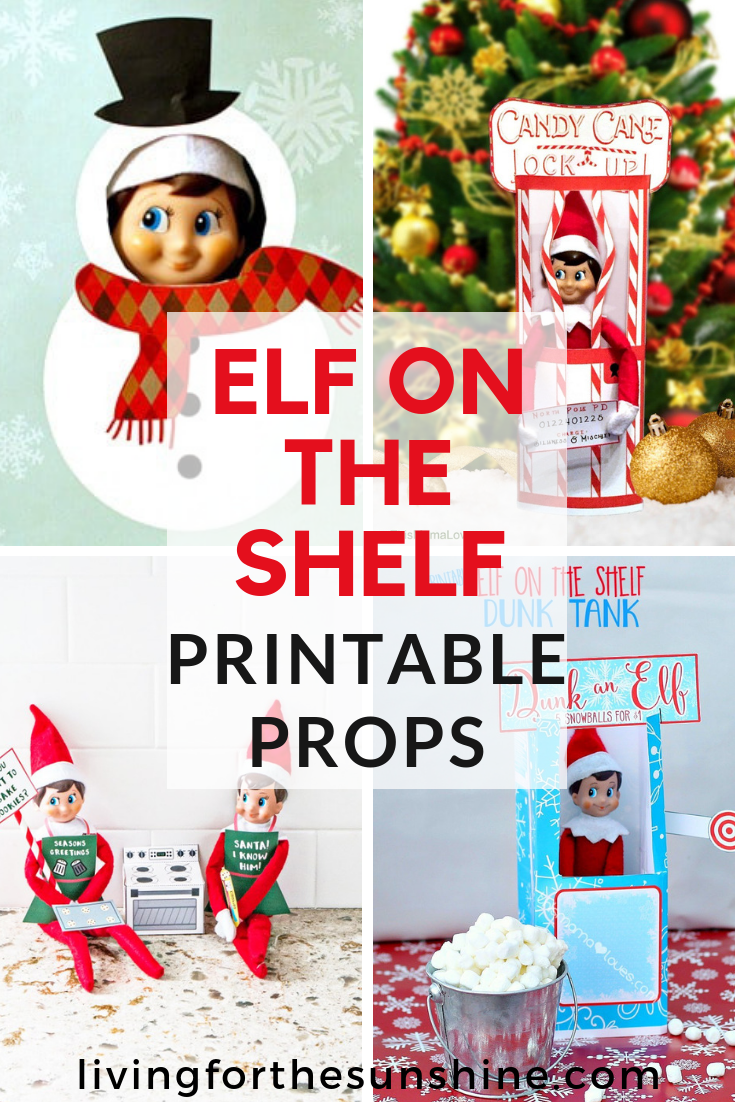graphic relating to Elf on the Shelf Printable Props known as Elf upon the Shelf Printable Props, Letters and Additional - Residing