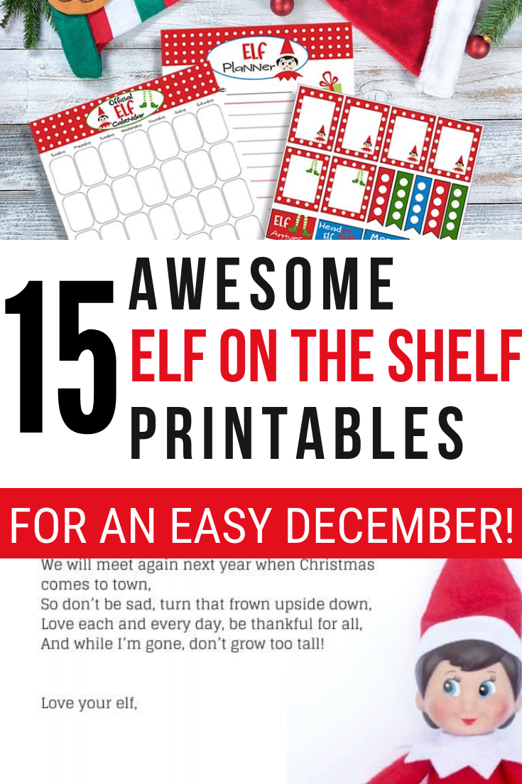photo about Elf on the Shelf Printable Props identify Elf upon the Shelf Printable Props, Letters and Excess - Residing