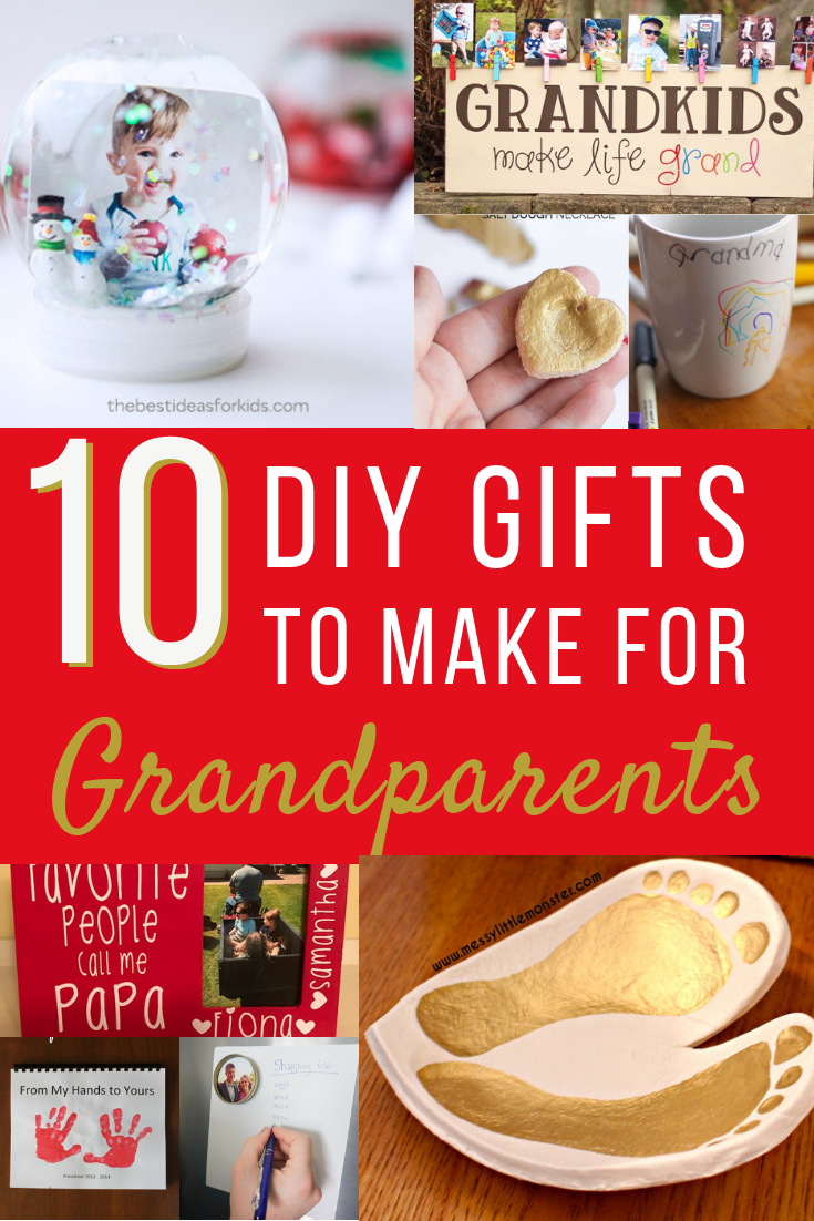 10 Heartfelt Diy Gifts For Grandparents Living For The Sunshine