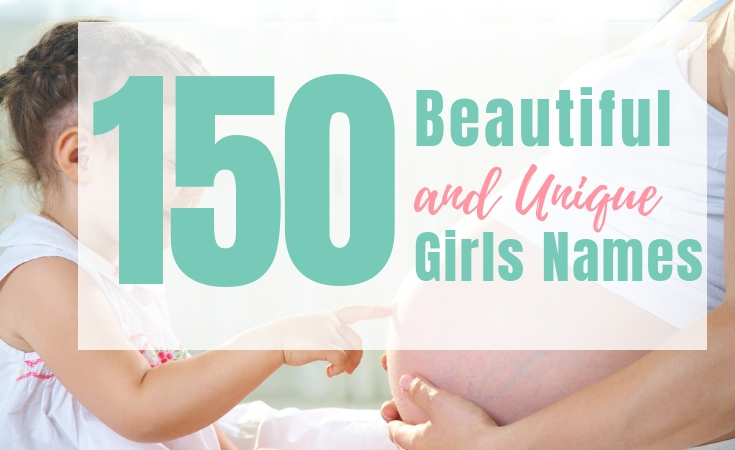 200 Pretty and Unique Girl Names - Living For the Sunshine
