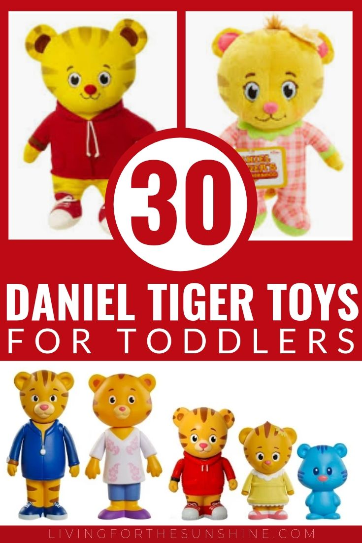 30 Best Daniel Tiger Toys for Toddlers