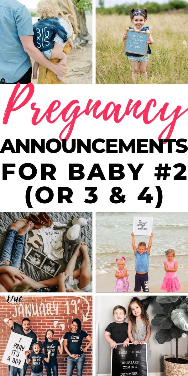 Perfect Pregnancy Announcement Wording for Second Child (Or ...