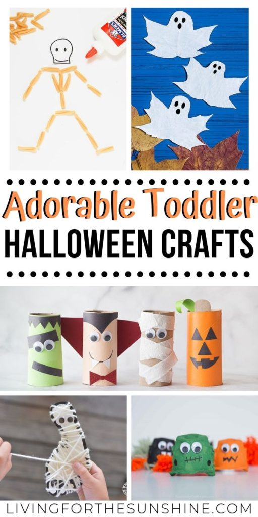 Easy Halloween Crafts For Toddlers Living For The Sunshine